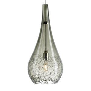 Seguro Satin Nickel One-Light Mini-Pendant
