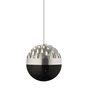 Sphere Satin Nickel Line Voltage Dimming LED Mini Pendant