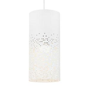Crossblend White 6-Inch LED Mini Pendant