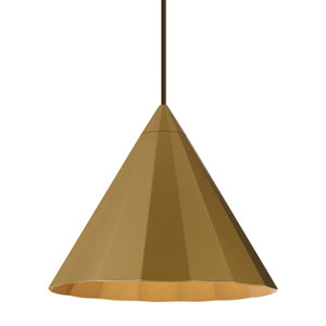 Astora Gold One-Light 12-Inch Pendant