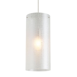 Vetra Clear One-Light 7-Inch Mini Pendant