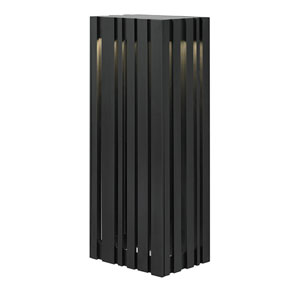 Uptown Silver One-Light Large LED Outdoor Wall Sconce