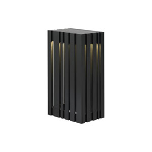 Uptown Silver One-Light Small LED Outdoor Wall Sconce