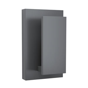 Nate Graphite 4-Inch LED Outdoor Wall Sconce