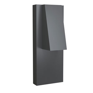 Peak Graphite 4-Inch LED Outdoor Wall Sconce