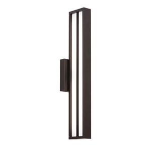 Aviva 26 Black One-Light LED Outdoor Wall Sconce