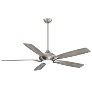 Dyno XL Burnished Nickel 60-Inch Smart Ceiling Fan