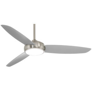 Concept IV Brushed Nickel 54-Inch LED Smart Ceiling Fan