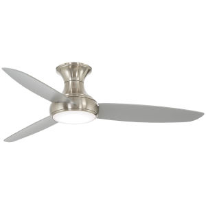 Concept III Brushed Nickel 54-Inch LED Smart Ceiling Fan