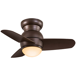 Spacesaver LED Oil Rubbed Bronze LED Ceiling Fan