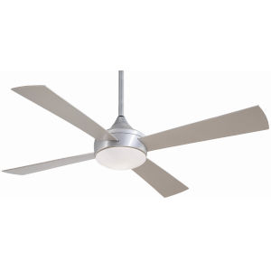 Aluma Brushed Aluminum 52-Inch LED Outdoor Ceiling Fan