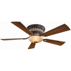Calais Belcaro Walnut 52-Inch Two-Light LED Ceiling Fan