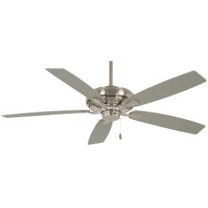 Watt Brushed Nickel 52-Inch Ceiling Fan