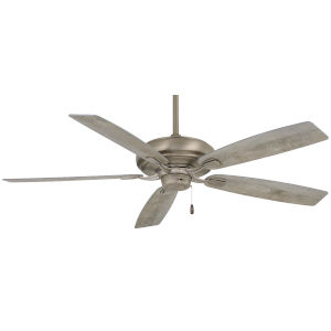Watt Burnished Nickel 52-Inch Ceiling Fan