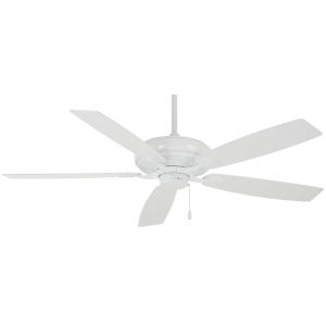 Watt White 52-Inch Ceiling Fan
