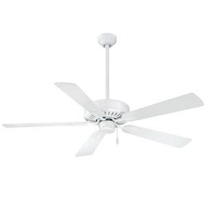 Contractor Plus Flat White 52-Inch Ceiling Fan