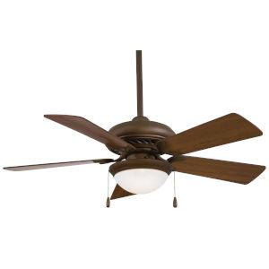 Supra Oil Rubbed Bronze 44-Inch LED Ceiling Fan