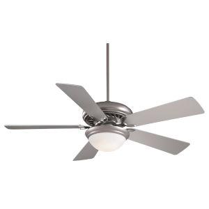 Supra Brushed Steel 52-Inch LED Ceiling Fan