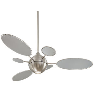Cirque Brushed Nickel 54-Inch LED Ceiling Fan