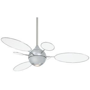 Cirque Polished Nickel 54-Inch LED Ceiling Fan