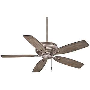 Timeless Burnished Nickel Ceiling Fan