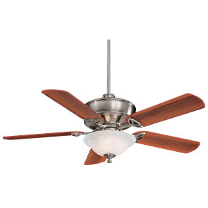 Bolo Brushed Nickel 52-Inch Three-Light LED Ceiling Fan