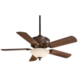 Bolo Oil Rubbed Bronze 52-Inch Three-Light LED Ceiling Fan