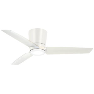 Pure Flat White 48-Inch LED Ceiling Fan