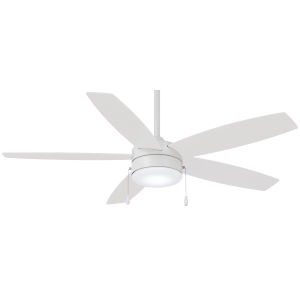 Airetor Flat White 52-Inch LED Smart Ceiling Fan
