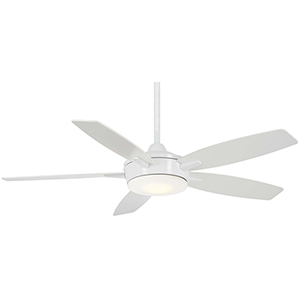 Espace White LED Ceiling Fan