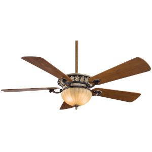 Volterra Belcaro Walnut 52-Inch Two-Light LED Ceiling Fan