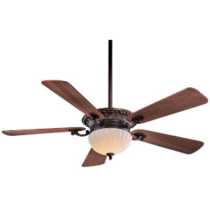 Volterra Bronze 52-Inch Two-Light LED Ceiling Fan