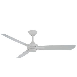 Rudolph Flat White 52-Inch Ceiling Fan