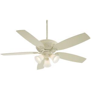 Classica Provencal Blanc 54-Inch Three-Light LED Ceiling Fan