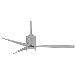 Mojave Silver LED Ceiling Fan