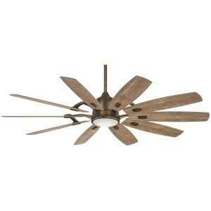 Barn Barnwood 65-Inch Smart Ceiling Fan