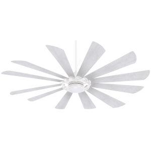 Windmolen Textured White 65-Inch LED Smart Ceiling Fan