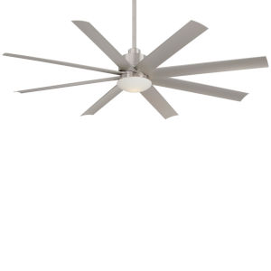 Slipstream Brushed Nickel Wet 65-Inch Ceiling Fan
