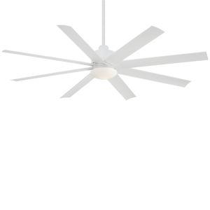 Slipstream Flat White 65-Inch Ceiling Fan