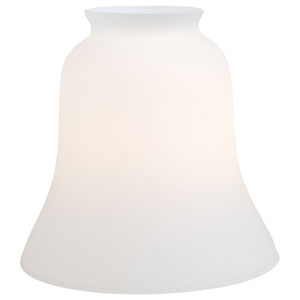 Minka Aire Etched Opal Glass Shade-