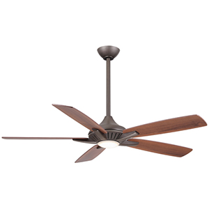 Dyno Oil Rubbed Bronze LED 52-Inch Ceiling Fan