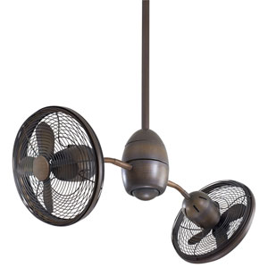 Gyrette Restoration Bronze 36-Inch Ceiling Fan