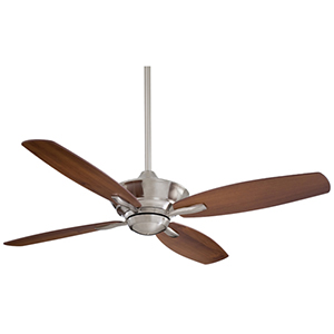 New Era Brushed Nickel  Energy Star 52-Inch Ceiling Fan