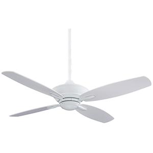 New Era White  Energy Star 52-Inch Ceiling Fan