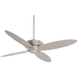 Zen Brushed Nickel 52-Inch Energy Star Ceiling Fan