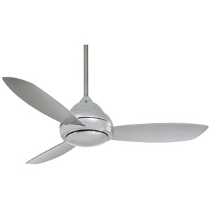 Minka Aire 52 Inch Concept I Brushed Nickel Ceiling Fan ...
