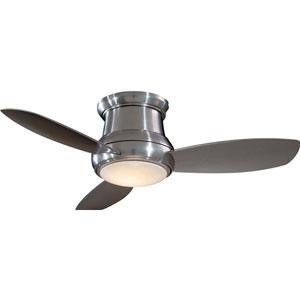 Concept II Brushed Nickel 44-Inch Flush LED Ceiling Fan