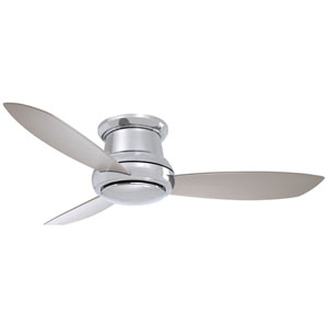 Concept II Polished Nickel 52-Inch LED Ceiling Fan