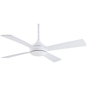 Aluma Wet Flat White 52-Inch Ceiling Fan