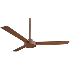 Roto Distressed Koa with Gold 52-Inch Ceiling Fan